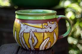 large mug animals cup mug for kids ceramic teacup mug with