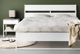 White Bedroom Furniture Cleaning Trysil White Ikea