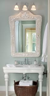 bathroom sea decor pretty coastal ideas wall seahorse beach house