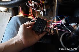 living with a suzuki swift installing a remote starter