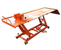 Motorcycle Lift Table by Amazon Com Bolton Tools 1000 Lbs Motorcycle Lift W Ramp Automotive