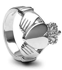 mens claddagh ring mens silver claddagh ring ms clad27