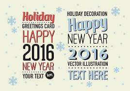 free merry vector background with typography