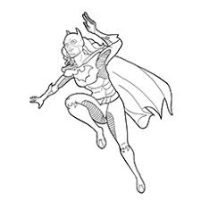 Batgirl Coloring Pages Meet Supergirl And Batman Rainpow Wonder Batgirl And Supergirl Coloring Pages Printable