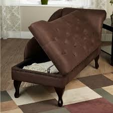 amazon com modern storage chaise lounge chair this tufted