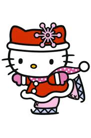 kitty merry christmas happy wallpaper