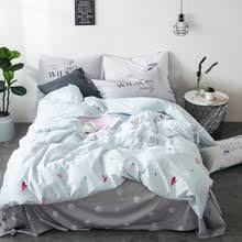 buy light blue duvet cover and get free shipping on aliexpress com