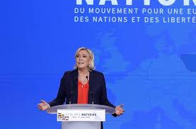 si e front national sarganserländer le pen und europäische verbündete laufen sich für
