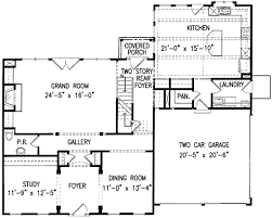 center colonial house plans plan w15718ge classic center home plan e architectural design