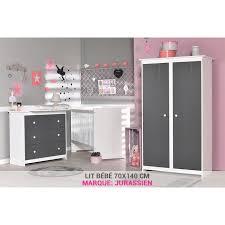 marque chambre bébé chambre bébé gris foncé avec lit 70x140 achat vente chambre