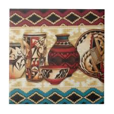 Southwestern Style Southwestern Ceramic Tiles Zazzle