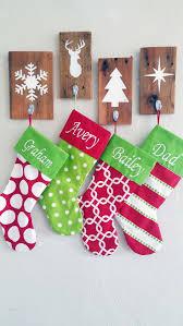 christmas wall decor roselawnlutheran christmas stocking holders set of 4 rustic christmas wall decor stocking holder individual