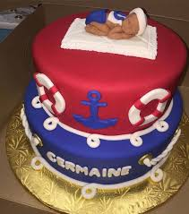 Red Baby Shower Themes For Boys - 39 best baby shower cakes for a baby boy images on pinterest