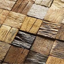 shop mosaic online efflorescent wood paneling 3d tiles interior