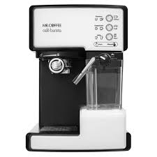 espresso maker electric mr coffee café barista pump espresso maker at mrcoffee com