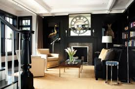 black decor using black as the main color for your interior décor