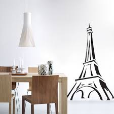 tower sketch wall decals stickers