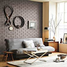 Modern Brick Wall by Interior Designs Modern Exposed Brick Wall Ideas For Living Room
