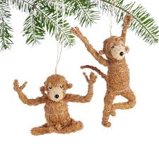 ornaments monkey ornaments