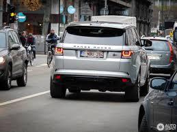 range rover sport silver land rover range rover sport svr 6 january 2017 autogespot