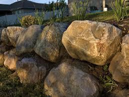 retaining wall rock garden champsbahrain com