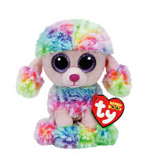 ty beanie boo small poufy poodle soft toy claire u0027s