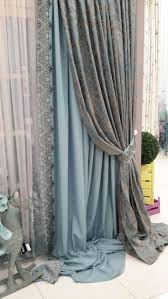 Textured Cotton Tie Top Drape by Best 25 Layered Curtains Ideas On Pinterest Window Curtains