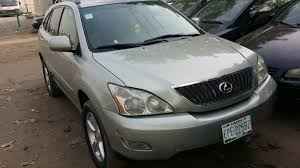 lexus rx for sale used sold sold 2004 well used lexus rx 330 autos nigeria