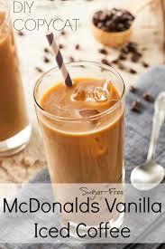 Iced Coffee Mcd mcdonald s sugar free iced coffee recipe vanilla copycat recipe