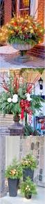 Christmas Decorating Ideas Outdoor Planters Pictures 2760 Best Christmas Images On Pinterest Christmas Time