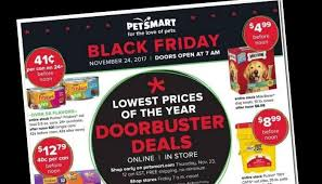 pet smart black friday ad 2017 deals store hours ad scans