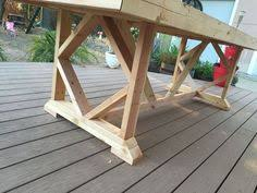 Patio Table Seats 10 Diy Large Outdoor Dining Table Seats 10 12 Woodworking
