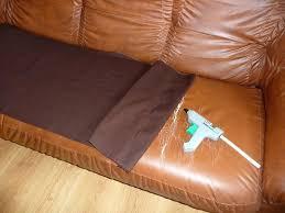 comment recouvrir un canap en cuir vieux canape cuir racparation d un canapac nettoyer vieux canape