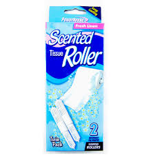 2 scented toilet paper rollers tissue roll holder replacement