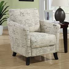 Brown Accent Chair Monarch Specialties I 800 Fabric Accent Chair Lowe U0027s Canada