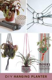 Diy Hanging Planters by Diy Macramé Hanging Planter Planters Tutorials And Macrame