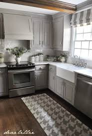 gray kitchen cabinets with white trim dear lillie darker gray cabinets and our marble review