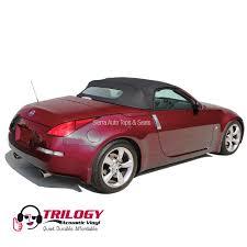 nissan 350z vs honda s2000 nissan 350z 2004 2009 convertible top with window black