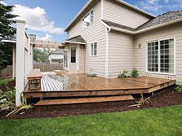 Garden Decking Ideas Uk Balau Decking Adds A Touch Of Class Garden Decking Ideas