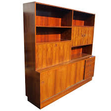 Wickes Bookcase Vintage Rosewood Poul Hundevad Wall Unit Bookcase Drop Desk For