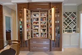 Bookcase Pantry Furniture Pantry Cabinets With Mid Century Bookshelf And Glass