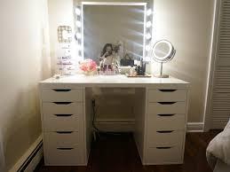 Portable Vanity Table Bedroom 37 Makeup Vanity Table With Lighted Mirror Diy Vanity