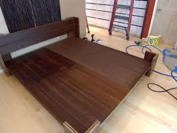 How To Build Platform Bed Frame With Drawers by How To Build A Bamboo Platform Bed Hgtv