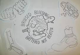 painting tattoo flash craigy lee tattoos