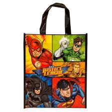 large justice league goodie bag justice league party supplies print favorites