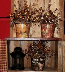 Primitive Kitchen Decorating Ideas 115 Best Berry Garland Images On Pinterest Berry Garland And