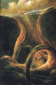 what lurks beneath the waves kraken sea monsters and norse
