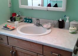bathroom countertops dark textured concrete countertop bathroom delightful organized counter top functional for family with toddlers picture fresh