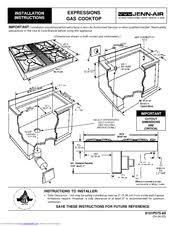 Jenn Air Gas Cooktop Troubleshooting Jenn Air Cvgx2423w Guide Manuals