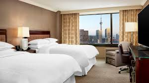 traditional guest room sheraton centre toronto hotel